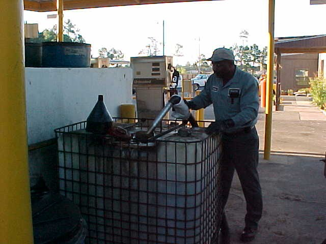 Waste oil collectors gautier mississippi for Where to dispose of motor oil